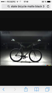 Fixed gear state bycicle