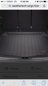 Weather tech cargo liner for Audi Q5