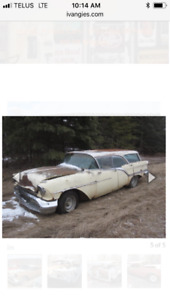 4 1957 Oldsmobile fiesta 4 door hard top station wagons!