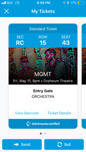 mgmt tickets for sale