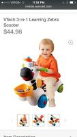 VTECH three in one ride on toy $25