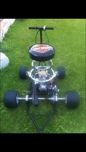 One of a kind bar stool racer  !