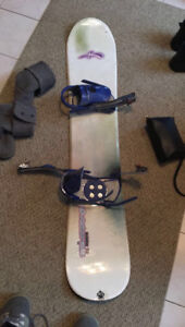 Snowboard and boots for sale!