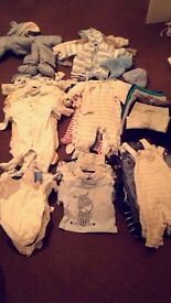 Baby boy bundle 0-6 months (great condition)
