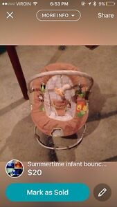 Summer time bouncy seat