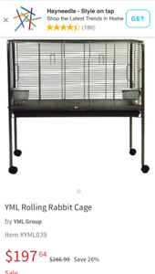 Selling bunny or animal cage