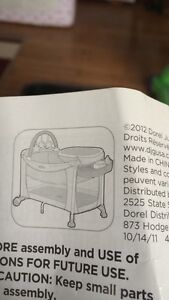 SOLD    Playpen Safety 1st