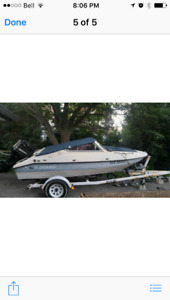 16 ft Sunray Bowrider with 70hp merc