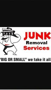 "Junk Removal Service ""BIG or small we take it ALL"""