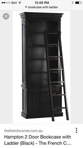 Wanted: Bookcase with rolling ladder