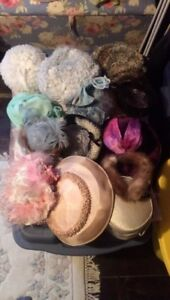 Very nice antique hats