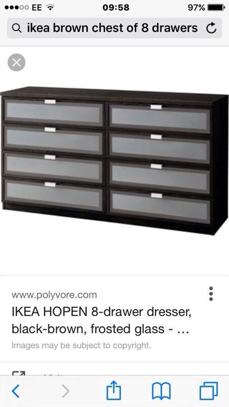 Ikea Hopen 8 Drawer Dresser In London Gumtree. Hopen 8 Drawer Dresser   Trend Dressers Designs
