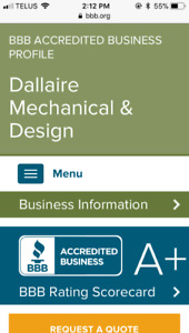 General contracting and plumbing by DMD