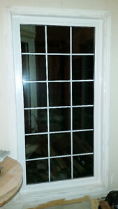 """Window with built in grid 76.75"""" x 39.25"""""""
