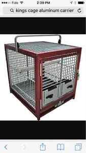 Kings cage Aluminum parrot carrier