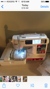 Brother Computerized embroidery sewing machine
