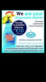 Commercial, Office, House and End of tenancy Cleaning. ALL IN ONE PLACE!! STARTING FROM £10PH