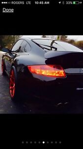 PORSCHE 997 RIMS AND BRAND NEW RUBBER