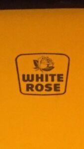 Lots of 1960s white rose stuff