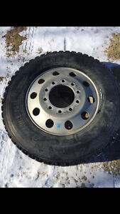 Tires and rims for sale 24.5 drive tires