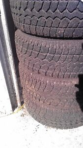 Winter Tires - Used for one winter - SIZE CORRECTION