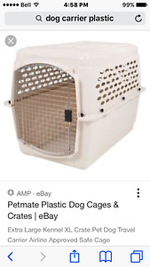 Dog crate small to med size