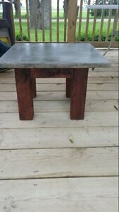 Outdoor patio Concrete Tables Stratford Kitchener Area image 3
