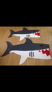 Homemade Kids Shark Attack Blanket! Edmonton Edmonton Area image 3