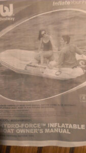 New inflatable boat