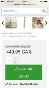 Robinet de bain autoportant minimaliste Gatineau Ottawa / Gatineau Area image 3