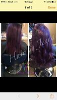 Gorgeous human hair extensions