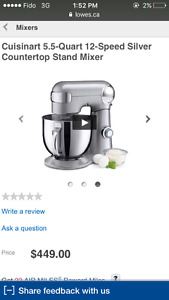 Cuisinart Electric Stand Mixer