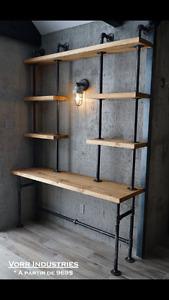 Bureau Rustique / Industriel
