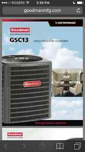 SUMMER SALE ON AIR CONDITIONERS, FURNAGES, GAR. HEAT! $49/mo OAC