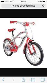 "One direction 16"" bike"