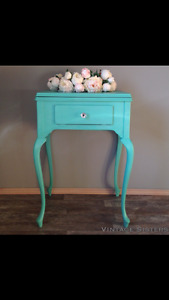 Refinished Sewing Cabinet