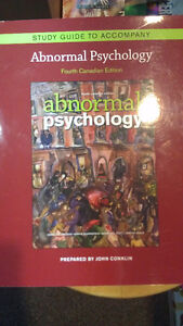 Study Guide to Accompany Abnormal Psychology 4th Canadian Ed