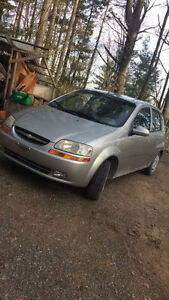 2004 Chevy Aveo low km, amazing condition