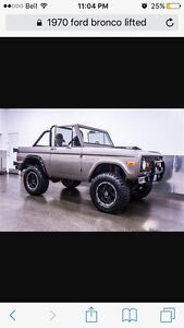 Want a 70's bronco