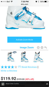 Jr skis and boots