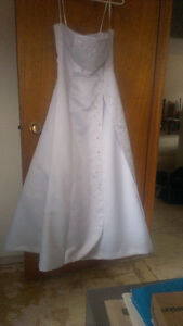 Wedding Dress for Sale by Donation to Three Oaks Shelter