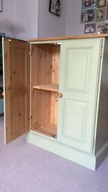 Painted Pine Cupboard Shabby Chic