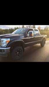 2013 Ford F-250 super duty lariat. Loaded