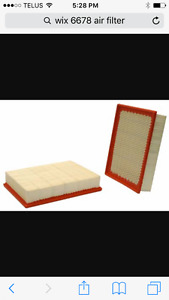 Wix 6678 air filters