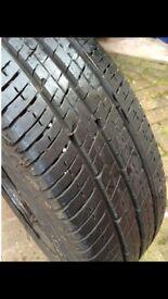16inch van wheel + tyre: vauxhall vivaro, nissan primaster, ren trafic