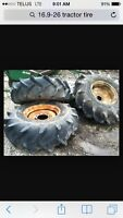 Wanted: 16.9-26 or a set of 14.9-26 tractor tires