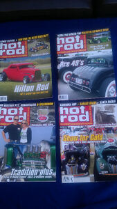 """HOT ROD"" magazines from New Zealand. (8)"