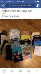 Huge newborn boys lot all in excellently condition