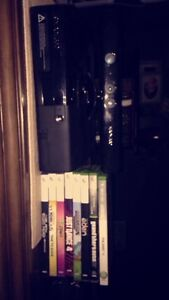 Xbox 360 , Kinect and games.