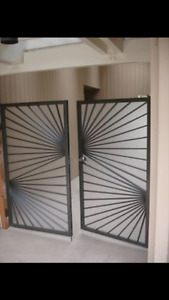 Welding experts are offering gate, fence and railing